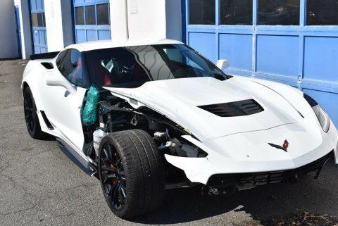 2019 Chevrolet Corvette Z06 repairable [very low mileage] for sale