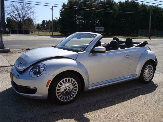 2013 Volkswagen New Beetle Convertible Repairable [light body work needed]