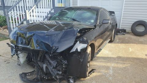 2018 Ford Mustang Ecoboost turbo repairable [no damage on frame and engine] for sale