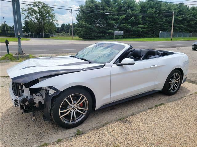 2017 Ford Mustang Ecoboost Premium Convertible repairable [runs and drives]