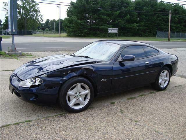 1998 Jaguar XK8 Coupe Repairable [easily repairable light damage]