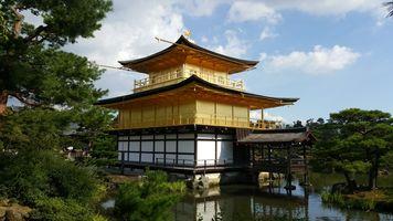 File:Golden pavilion, Kinkakuji.jpg