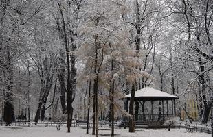 File:Planty Garden, pavilion, Old Town, Krakow, Poland.JPG