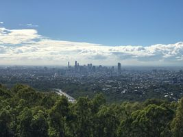 File:Brisbane seen from Mount Coot-tha Lookout on a hazy day.jpg