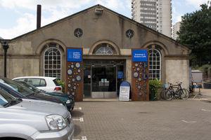 File:London Museum of Water & Steam entrance.jpg