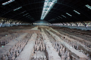 File:Terracotta Army, View of Pit 1.jpg