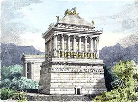 File:Mausoleum at Halicarnassus by Ferdinand Knab (1886) cropped.png