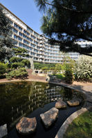File:April 2010, UNESCO Headquarters in Paris - The Garden of Peace (or Japanese Garden) in Spring.jpg