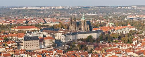 File:Prague panorama at castle.jpg