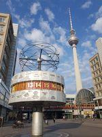 File:2019-08-06 Urania-Weltzeituhr and Berliner Fernsehturm.jpg