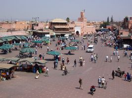 File:MoroccoMarrakech DjemaaElFna..jpg