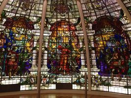 File:Stained glass window from Baltic Exchange.jpg