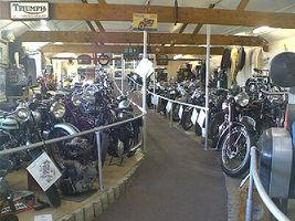File:London Motorcycle Museum motorcycles.jpg