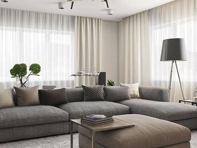 cortina ambiente sofisticado