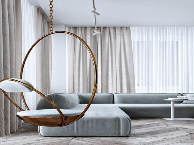 cortina ambiente moderno