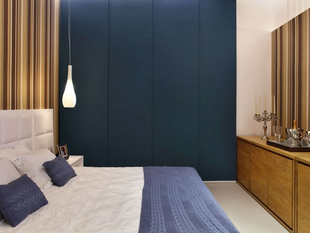 Cortina painel com blackout