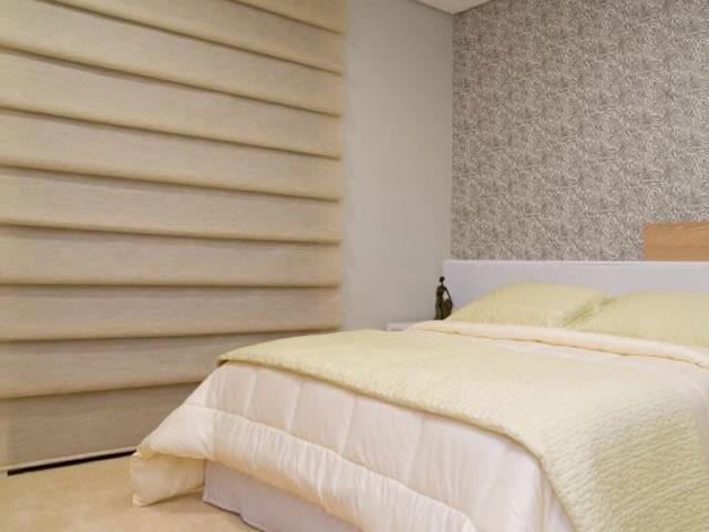 cortinas para sala modelo romana wave