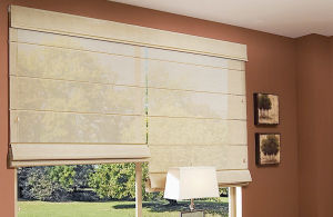 tipo de cortinas romanas