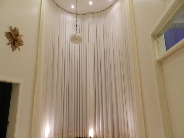 cortina de pe direito em voial