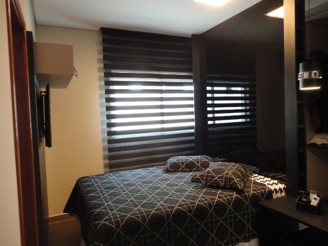 Cortina Double Vision Quarto do Casal