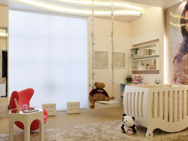 Cortina Sophisticata Quarto do Bebê