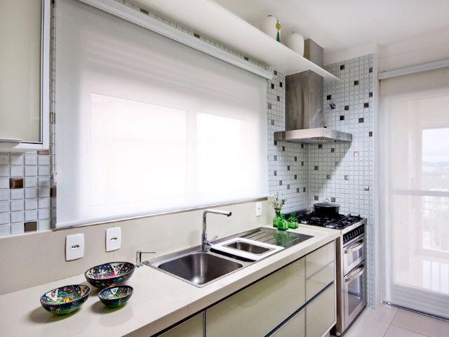 Rolô Tela Solar Cozinha Clean III