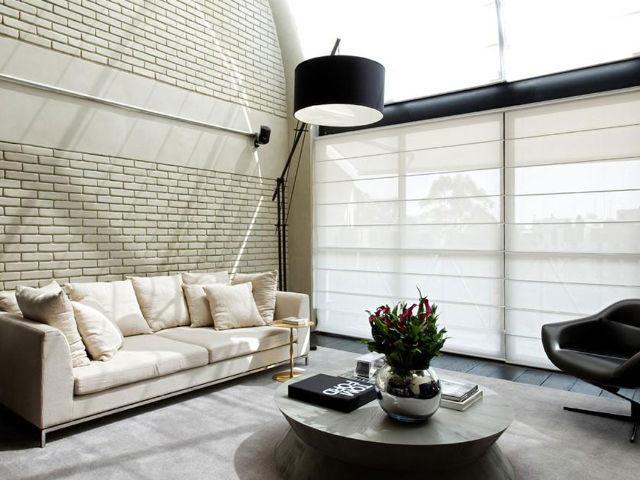 Romana Tela Solar Sala Moderna