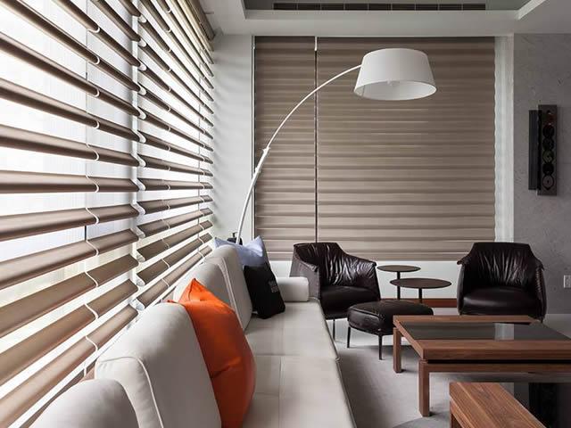 cortina nouvelle sala de estar
