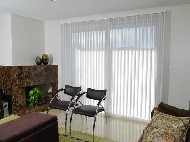 cortina vertivision para sala