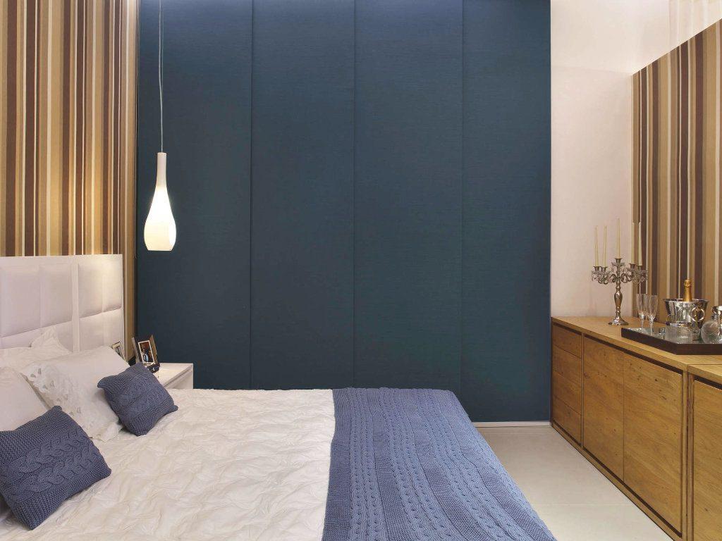 cortinas painel para quarto