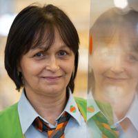 Iveta S., pokladní, 6 let v Globusu