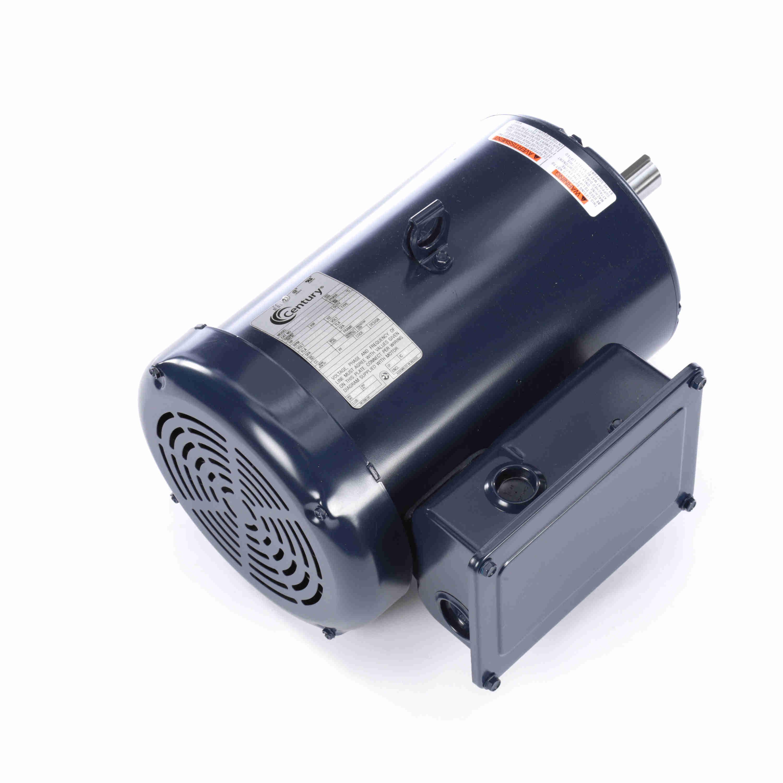 3 Hp General Purpose Motor 1 Phase 1800 Rpm 115 230 V 184t Frame Tefc
