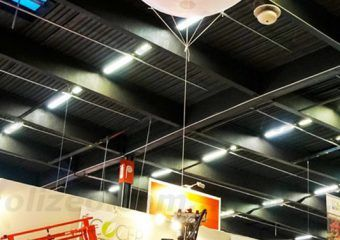 ballon 2 m ecocep en salon