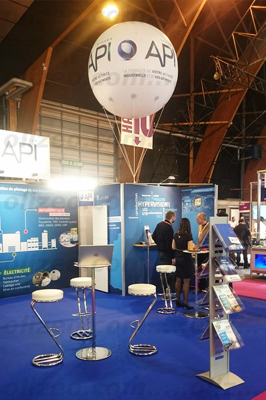 ballon show et salon api