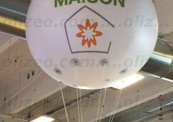 réno info maison ballon hélium 2m