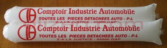 baguette gonflable stade comptoir industrie automobile