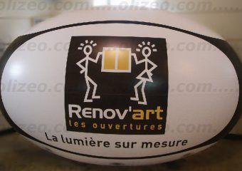 ballon publicitaire renov'art