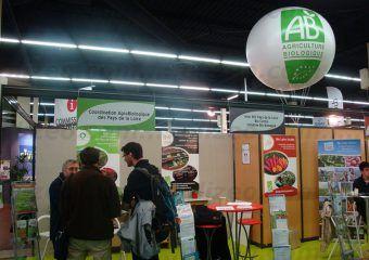 Ab agriculture biologique ballon géant salon