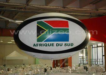 ballon de rubby geant afrique du sud