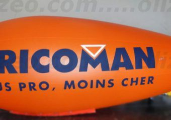 dirigeable orange bricoman
