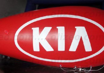 ballon rouge dans le ciel kia