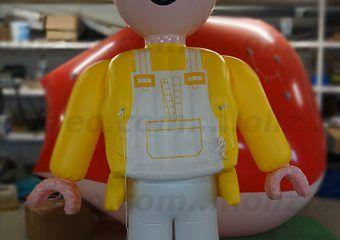 playmobil gonflable géant
