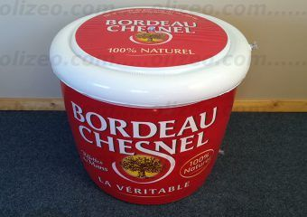 pot bordeau chesnel gonflable geant