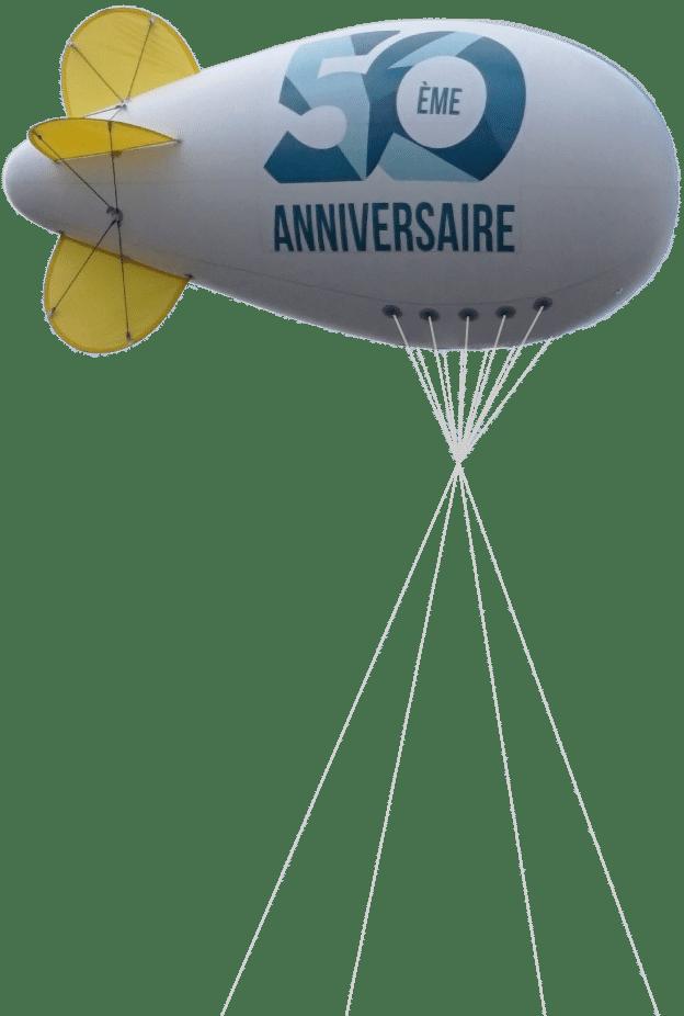 dirigeable 6 m 50 ans anniversaire