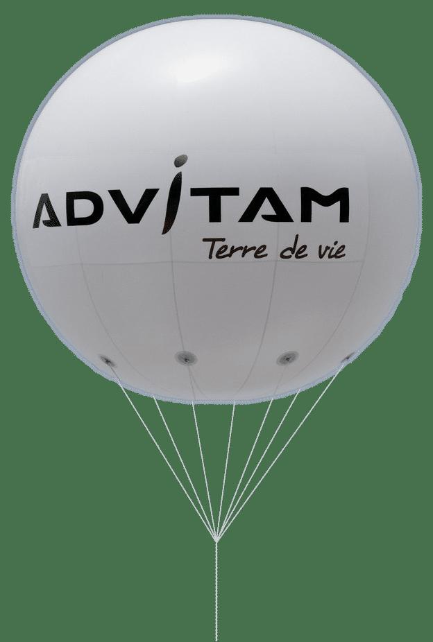 ballon helium de 2.5 m advitan