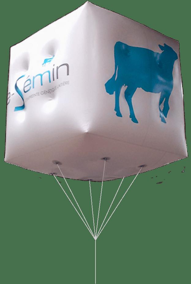 cube helium pour le space semin