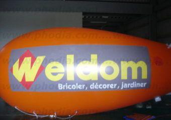 zeppelin orange weldom bricoler jardiner decorer