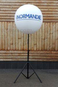 Un ballon sur pied réglable pour l'armada de Rouen 2019