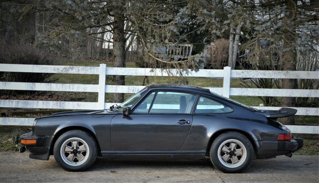 1980 Porsche 911SC Weissach Edition in Black metallic