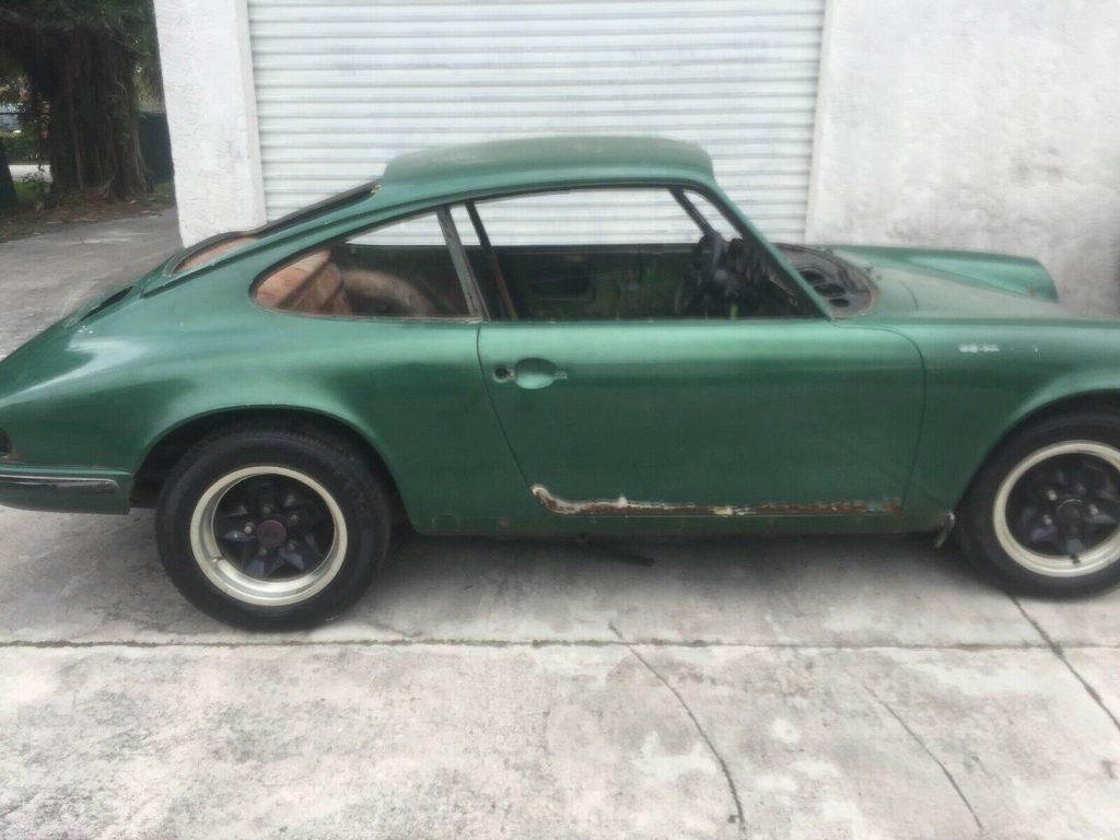 1973 Porsche 911 leather project